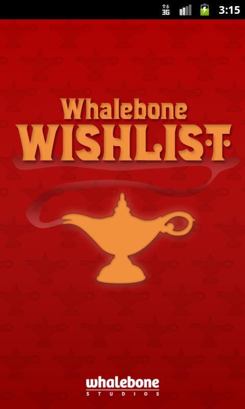Whalebone Wishlist- screenshot