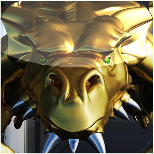 图标包金色龙 娛樂 App LOGO-APP試玩