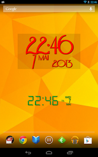 Easy Clock Widget- screenshot thumbnail