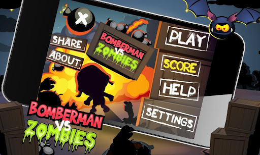 لعبة الادمان التي لاتقاوم بومبرمان ضد الزمبي Bomberman vs Zombies v1.0.0