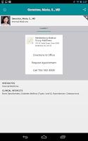 Screenshot of Carolinas HealthCare System