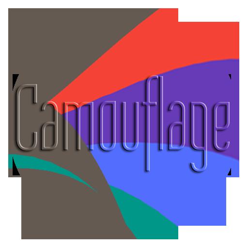 Camouflage UI LOGO-APP點子