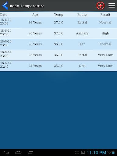 Body Temperature  screenshots 10