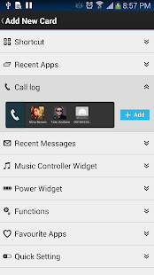 Sidebar Launcher Screenshot