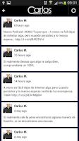 Screenshot of Carlos Marquez