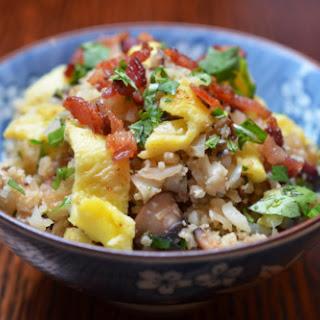 Asian Cauliflower Fried Rice.