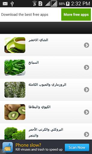أغذية للمحافظة على شبابك 2015