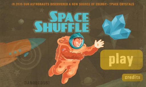 Space Shuffle Puzzle Game