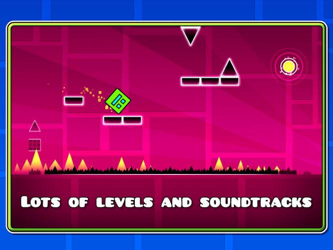 Geometry Dash 2.001 Cracked APK - screenshot