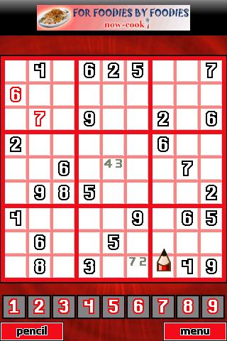 Infinite Sudoku Puzzles FREE!! - screenshot