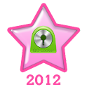 Pink Christmas Go Locker Theme icon