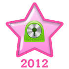 Pink Christmas Go Locker Theme icon