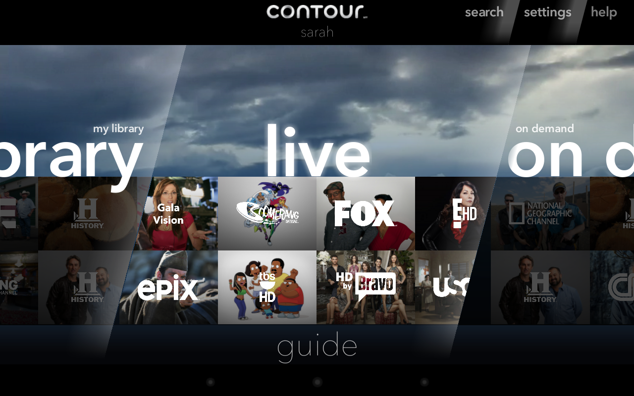 Cox Contour - screenshot