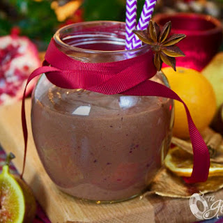 Luscious and Rich Christmas Plum Pudding Smoothie; A Right Royal Treat!.