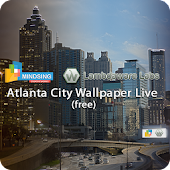 Atlanta City Wallpaper Live