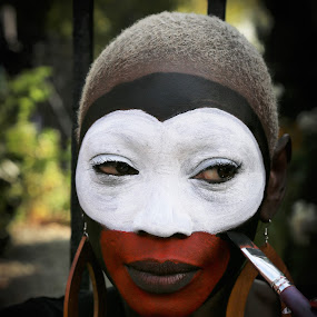 West Indies Woman by VAM Photography - People Portraits of Women ( parade, makeup, woman, nyc, places )