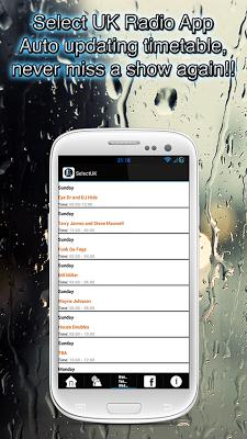 Select UK Radio - screenshot