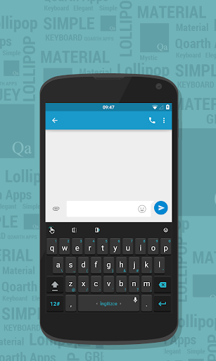 Simple Dark theme for TouchPal