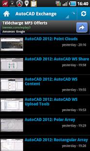 玩免費生產應用APP|下載AutoCAD® news app不用錢|硬是要APP