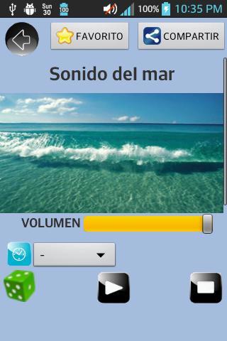 Sonidos Relajantes Naturales- screenshot