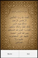 Screenshot of Al Fatiha