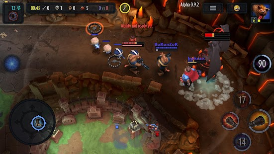 Heroes of SoulCraft - MOBA- screenshot thumbnail