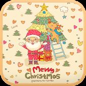 Cozy Santa go launcher theme