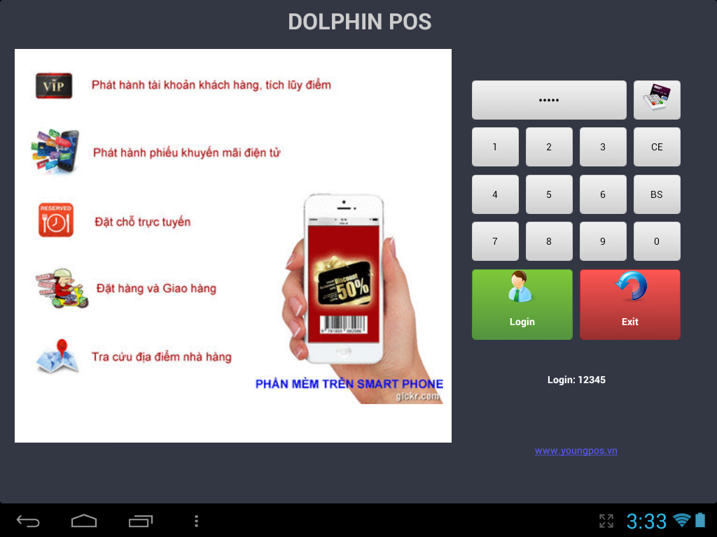 Restaurant Dolphin POS- screenshot