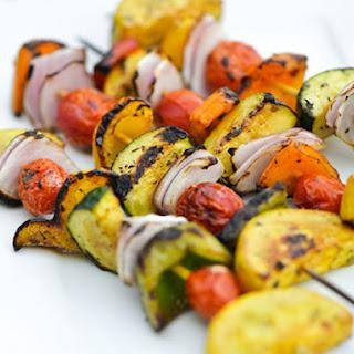 Balsamic Vegetable Skewers