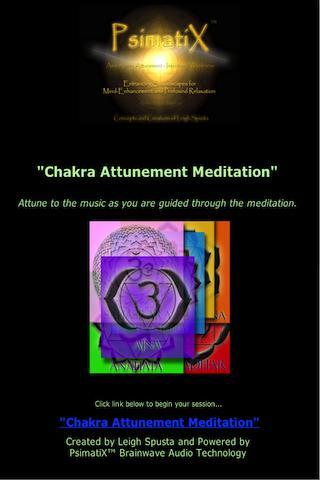 Chakra Music & Meditation Set - screenshot