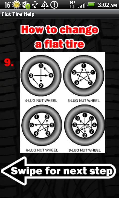 Flat Tire Help- screenshot