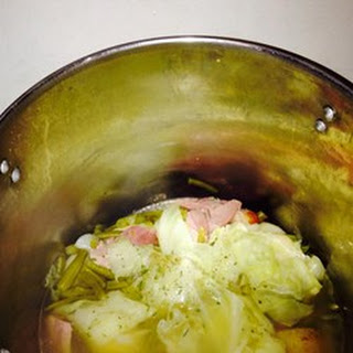 Dot's Ham, Cabbage, and Potatoes.