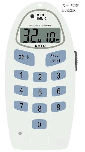 SATO TM-30 多機能タイマー