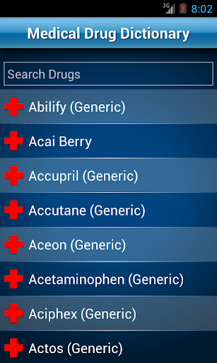Drugs Dictionary Offline: FREE Apk Download Free for PC, smart TV