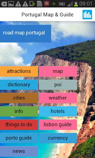 旅遊必備免費app推薦|ポルトガルオフライン地図とガイド天気、ニュース、マップ線上免付費app下載|3C達人阿輝的APP