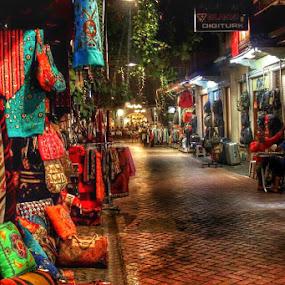 Hand Bag Shoping  by Nachau Kirwan - City,  Street & Park  Markets & Shops ( holiday, markets, shops, bag, turkey,  )
