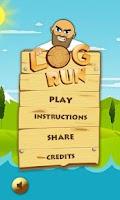 Screenshot of Log Run