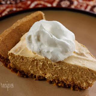 Pumpkin Spice No-Bake Cheesecake.