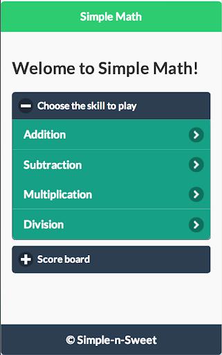 SimpleMath Lite