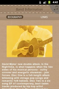David Myles - screenshot thumbnail