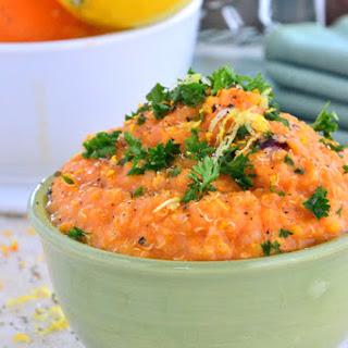 Sweet Potato Quinoa Soup.