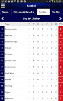Screenshot of Sky Sports for Android