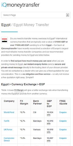 Egypt Transfer EGP