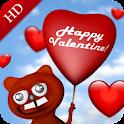 Valentine – 3D live wallpaper logo