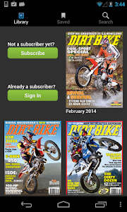 DIRT BIKE MAGAZINE screenshot 0