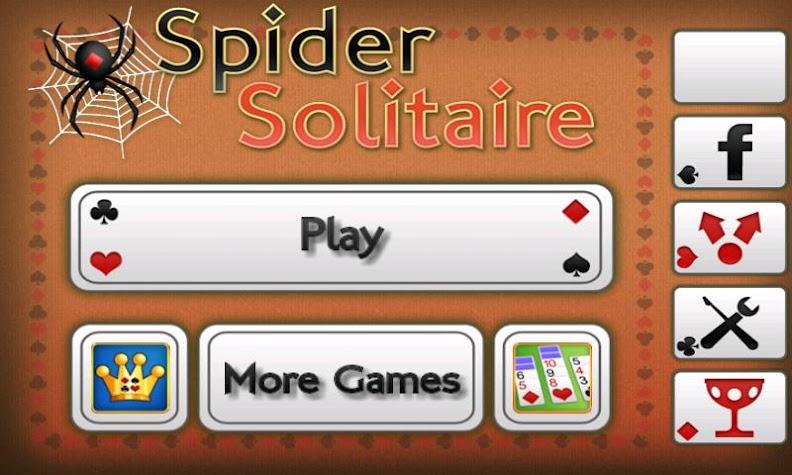 Spider Solitaire Screenshot