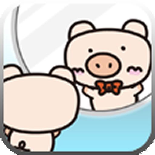 鏡アプリ【ほちおくんミラー】スマホが鏡(かがみ)に変身♪ 生活 App LOGO-硬是要APP