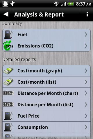 Gas Manager - screenshot
