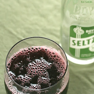 Blackberry-Verbena Syrup.