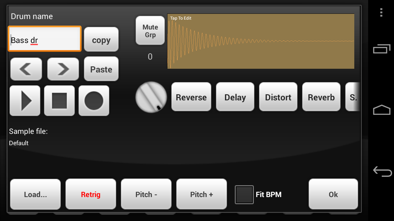 Electrum Drum Machine DEMO- screenshot